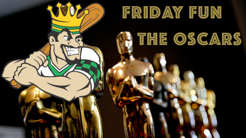 Friday Fun - Oscars Mediawall
